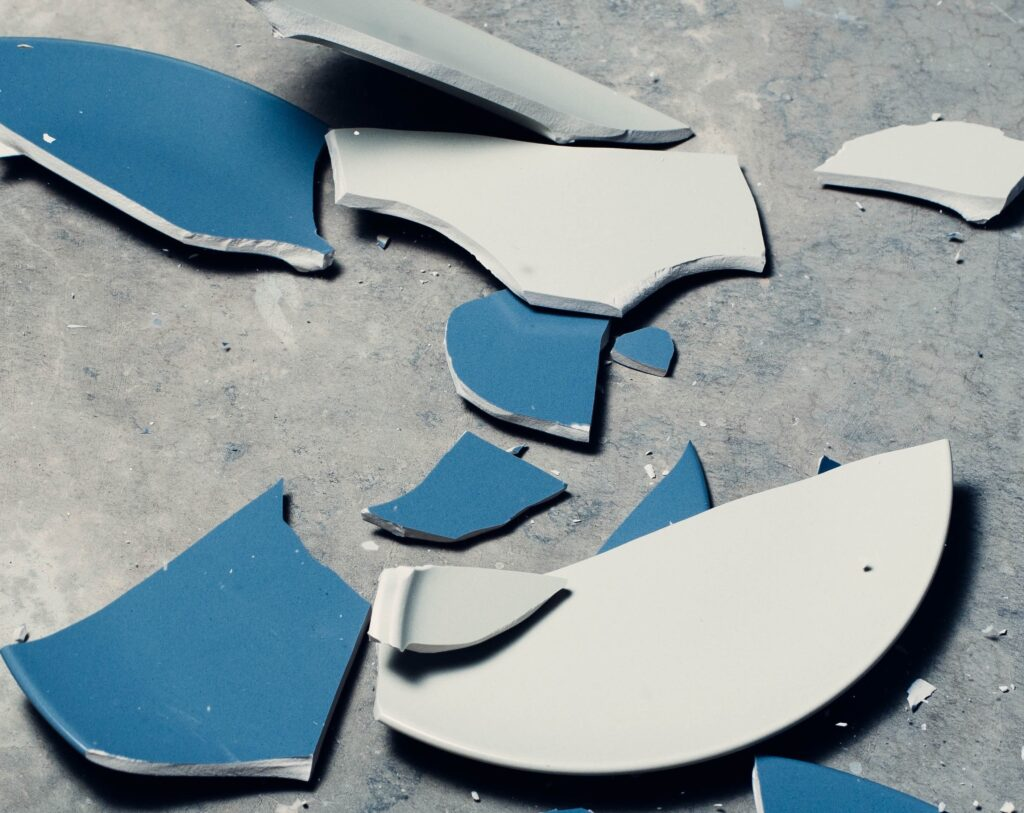 If you hire a bad moving company or a moving scam, you could end up with broken property.