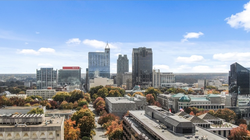 View of Downtown Raleigh, NC