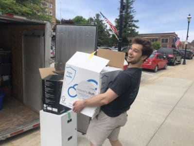 friendly, reliable, honest, college mover in Mason City